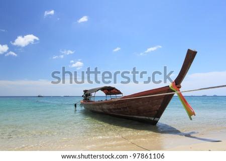 Local boat at Lipe Island