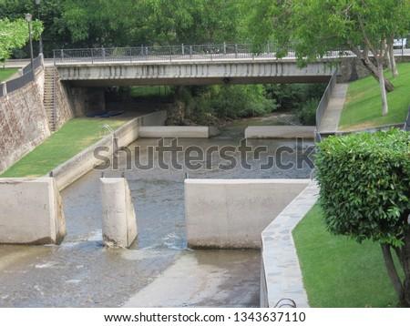 Local open air swimming pool in Meruelo river, Molinaseca, Leon, Spain #1343637110
