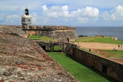 Located in Old San Juan, Puerto Rico, the El Morro fortress is arguably one of the most elaborate fortifications ever built in the Americas