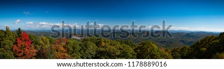 Located in the glorious Appalachian Mountains in Western North Carolina and situated in Pisgah National Forest, Looking Glass Rock offers gorgeous panoramic views at ~4000 ft.