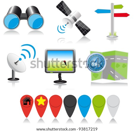 Location icons