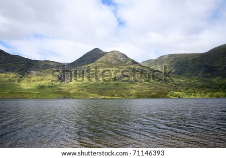 Loch Affric, in the northwest highlands of Scotland.