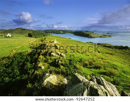 loch beag at craignish point argyll scotland uk gb