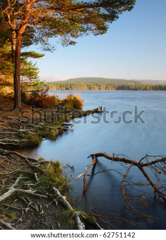 Loch Garten, Highlands of Scotland