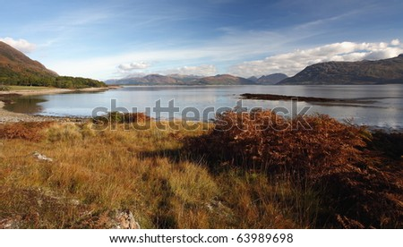 Loch Linnhe in Autumn.