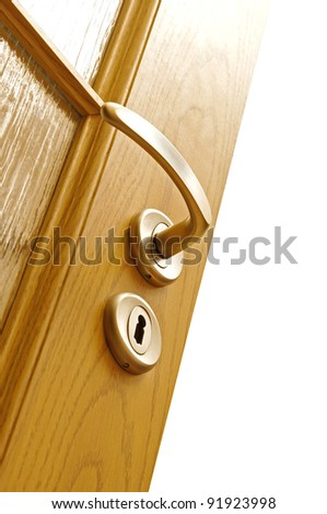 Lock and door handle