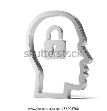 lock inside head