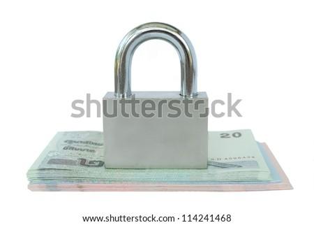 lock on money Thai baht
