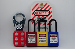 Lock out & Tag out,Lock out station , machine - specific lockout device and lockout point