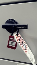Lock out & Tag out , Lockout station,machine - specific lockout devices