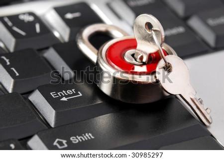 locked enter key of keyboard