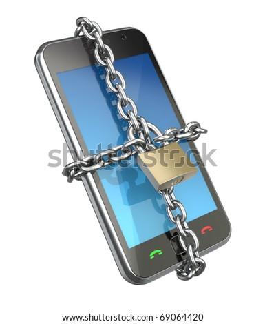 Locked phone