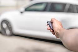 Locking the car by remote control