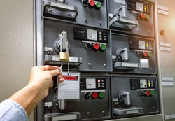 Lockout Tagout , Electrical safety system separated power or energy from electrician or worker.