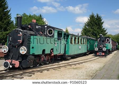 Locomotive museum in Poland