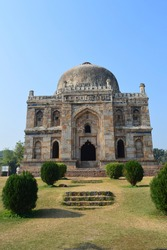 Lodhi Garden was once known as Lady Willingdon Park but was renamed after India gained independence from the British.It is a prime example of mughal architectural works of 15th century