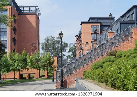 Loft Aparts  - Ancient textile factory - details of architecture of the city of Lodz, Poland