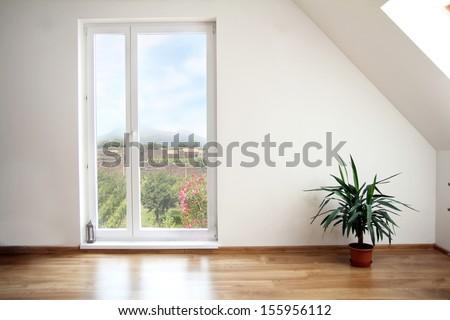 loft empty room #155956112