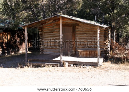 Log Cabin in the mountains of New Mexico