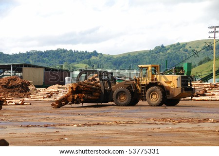 VanNatta Forestry, Logging Machinery, Log Skidders, Timber Museum