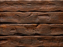 Log or wooden background with texture