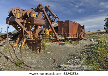 Logging equipment destroyed in the Mount Saint Helens eruption 30 years ago