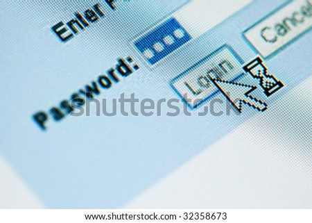 login  password