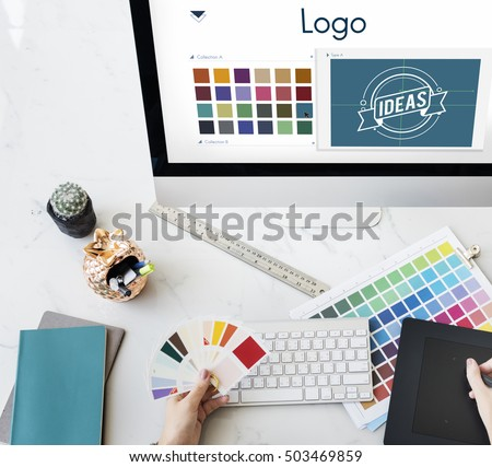 Logo Be Creative Inspiration Design Concept #503469859