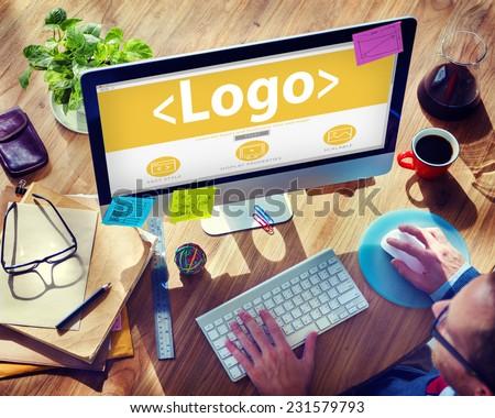Logo Copyright Brand Business Computer Concept #231579793