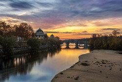 Loire valley in Tours, France