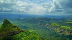 Lonava hill station,Pune, Maharashtra,India nature view on hill