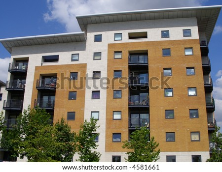London apartment block
