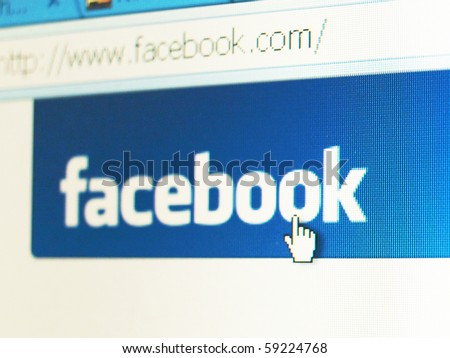 LONDON AUGUST 16 Facebook accounts targeted in dislike application scam as the popular social media networking site warns users of the scam August 16 2010 in London UK