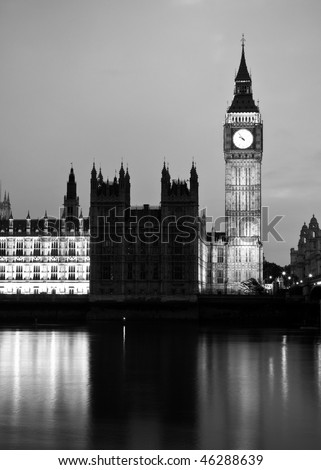 London black and white art series. 6.