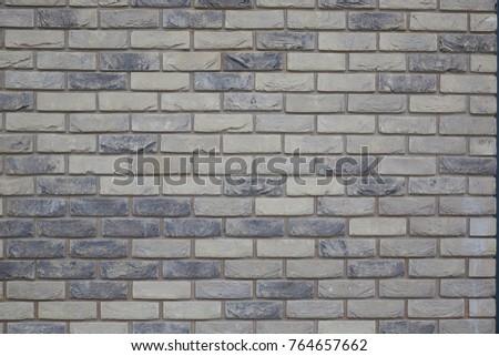 London brick wall background pattern old brick texture Stok fotoğraf ©