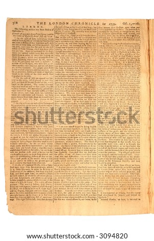 London Chronicle, Oct 16, 1759, Page 7 of 8.