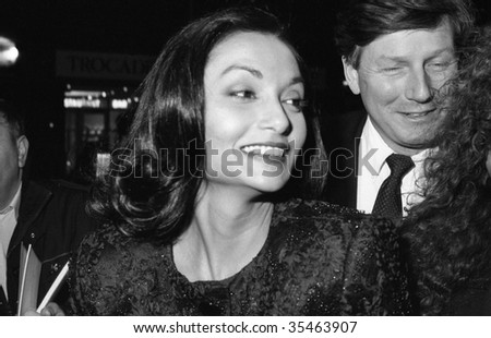 stock photo : LONDON- CIRCA 1989: Shakira Caine, former model and wife of
