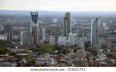 London Cityscape Skyscrapers #733025791
