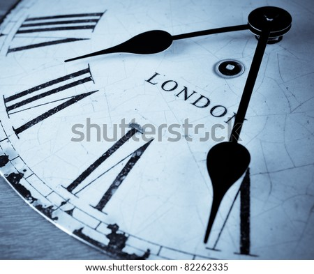 London clock face time.