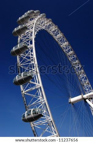 London Eye, big wheel the famous symbol of London