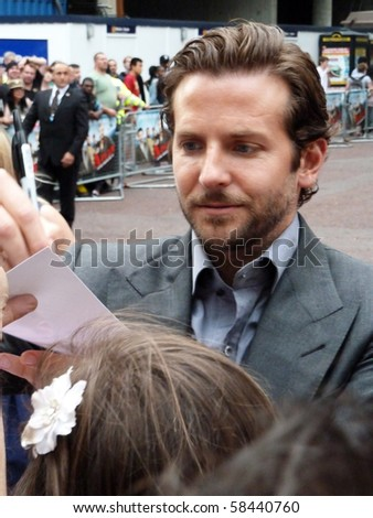 LONDON - JULY 27: Bradley Cooper at A Team Premiere July 27th, 2010 in Leicester Square London, England.