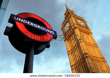 London 'Underground' logo