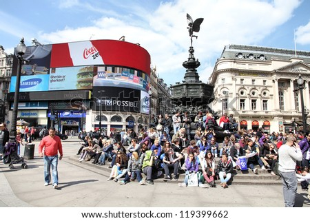 london   may 13  people visit...