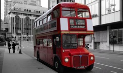London red double decker