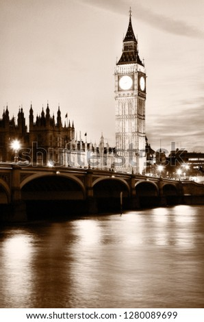 London sightseeing tour #1280089699