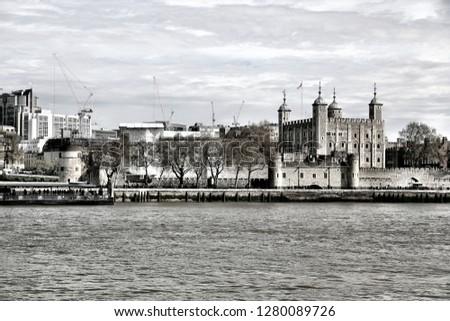 London sightseeing tour #1280089726