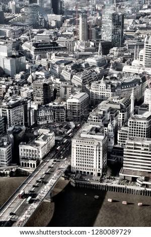 London sightseeing tour #1280089729
