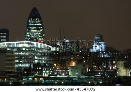 stock photo : London skyline