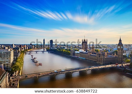 London skyline daytime