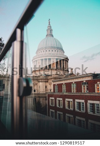 London Skyline Sunset            #1290819517